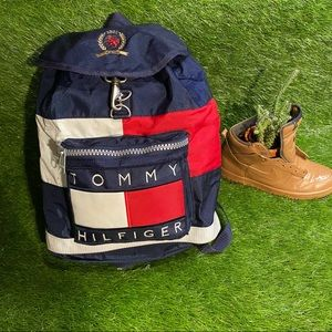 Vintage Tommy Hilfiger cut and sew backpack